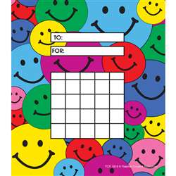 Happy Faces 36Sht Incentive Charts By Teacher Created Resources