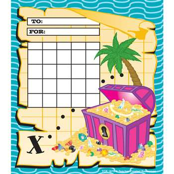 Treasure Chest Incentive Charts 30S By Teacher Created Resources