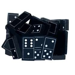 Foam Dominoes Black By Teacher Created Resources