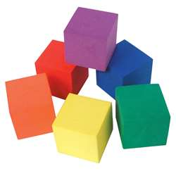 Foam Color Cubes By Teacher Created Resources