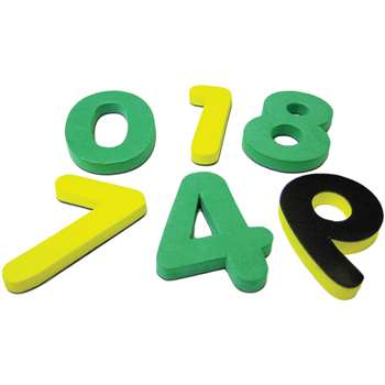 Magnetic Foam Numbers By Teacher Created Resources