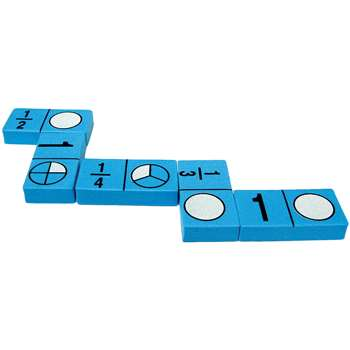 Foam Fraction Dominoes By Teacher Created Resources
