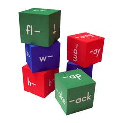 Foam Word Families Cubes By Teacher Created Resources