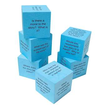 Foam Reading Comprehension Cubes By Teacher Created Resources
