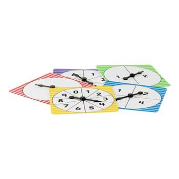 Number Spinners Pack Of 5, TCR20637