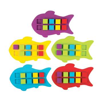 Magnetic Foam Fish Ten Frames, TCR20674