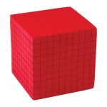 Foam Base Ten Thousands Cube, TCR20714
