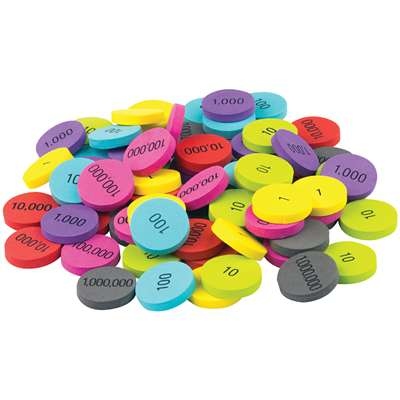Foam Place Value Disks, TCR20715