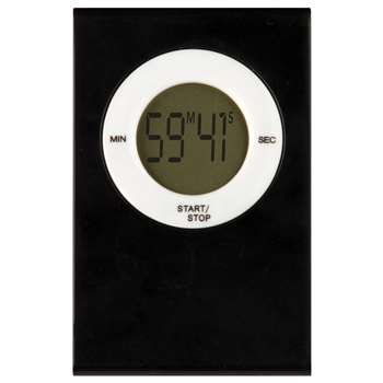 Magnetic Digital Timer Black, TCR20717