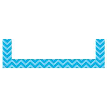 Aqua Chevron Magnetic Pockets Small, TCR20729