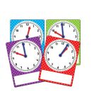 Magnetic Foam Geared Clocks Sm 4Pk, TCR20734