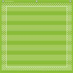 Lime Polka Dots 7 Pocket Chart, TCR20741