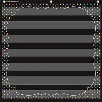 Chalkboard Brights 7 Pocket Chart, TCR20742