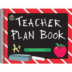 Teacher Plan Book Chalkboard By Teacher Created Resources