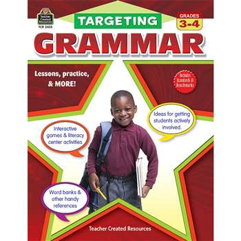 Targeting Grammar Gr 3-4 By Teacher Created Resources