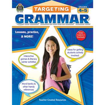 Targeting Grammar Gr 4-5 By Teacher Created Resources