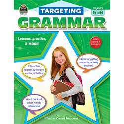 Targeting Grammar Gr 5-6 By Teacher Created Resources