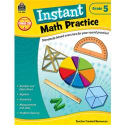 Instant Math Practice Gr 5 By Teacher Created Resources