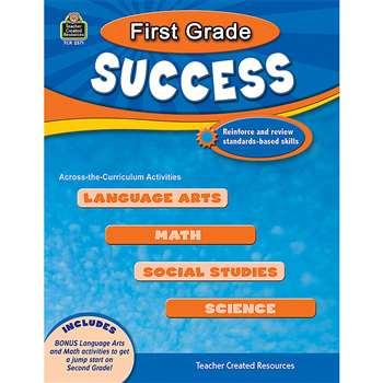 First Grade Success By Teacher Created Resources