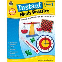 Instant Math Practice Gr 1 By Teacher Created Resources