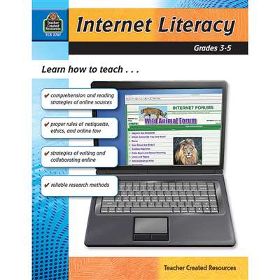 Internet Literacy Gr 3-5 By Teacher Created Resources