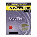 Prepare & Practice For Standardized Tests Math Gr 8 By Teacher Created Resources