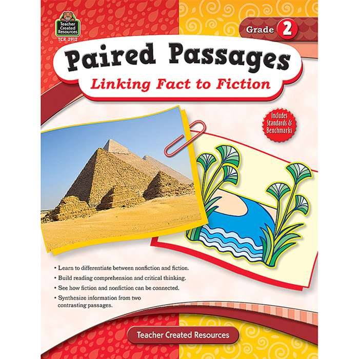 Paired Passages Linking Fact To Fiction Gr 2 By Teacher Created Resources