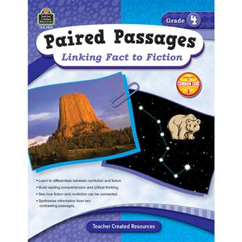 Paired Passages Linking Fact To Fiction Gr 4 By Teacher Created Resources
