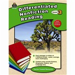 Differentiated Nonfiction Reading Gr 3 By Teacher Created Resources