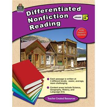Differentiated Nonfiction Reading Gr 5 By Teacher Created Resources