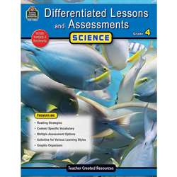 Differentiated Lessons Assessments Science Gr 4 By Teacher Created Resources