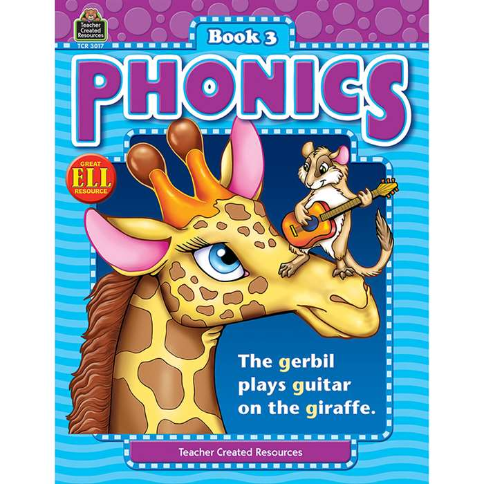 Phonics Book 3 By Teacher Created Resources