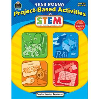 Year Round Gr Pk-K Project Based Activities For Stem By Teacher Created Resources