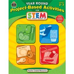 Year Round Gr 2-3 Project Based Activities For Stem By Teacher Created Resources