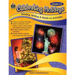 Celebrating Holidays Gr 1-2, TCR3033