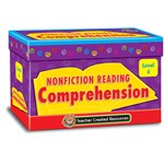 Nonfiction Comprehension Cards Lvl4 By Teacher Created Resources