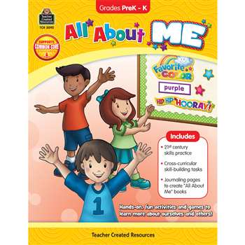 All About Me Resource Book By Teacher Created Resources