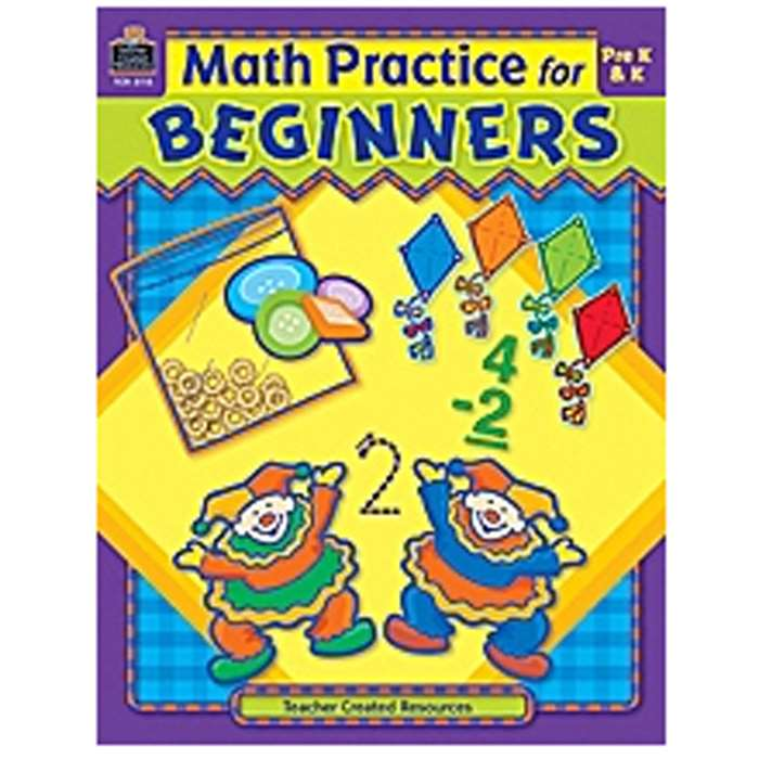 Math Practice For Beginners By Teacher Created Resources