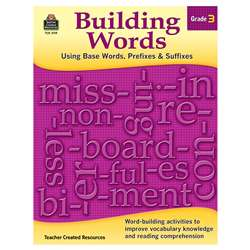 Building Words Gr 3, TCR3119