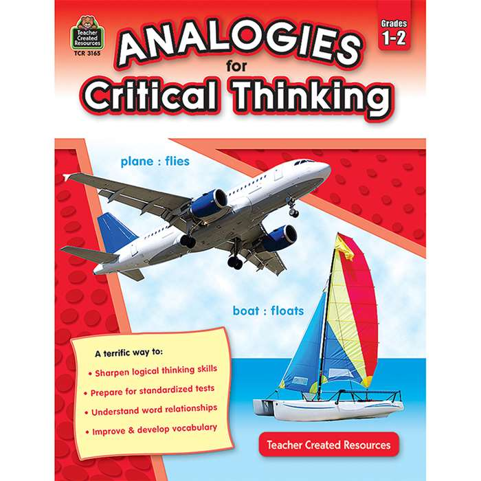 Gr 1-2 Analogies For Critical Thinking By Teacher Created Resources