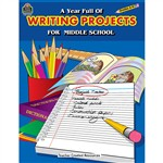 A Year Full Of Writing Projects Middle School By Teacher Created Resources