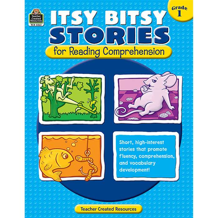 Itsy Bitsy Stories For Reading Comprehension Gr 1 By Teacher Created Resources