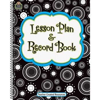 Crazy Circles Lesson Plan Record Book By Teacher Created Resources