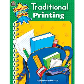 Traditional Printing Practice Makes Perfect By Teacher Created Resources
