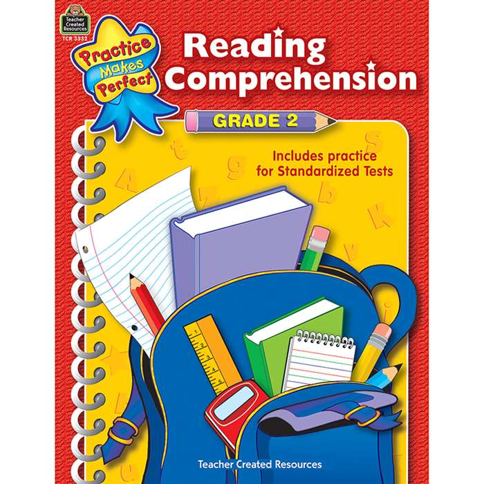 Reading Comprehension Gr 2 Practice Makes Perfect By Teacher Created Resources
