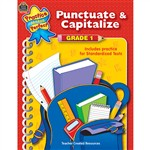 Punctuate & Capitalize Gr 1 Practice Makes Perfect By Teacher Created Resources