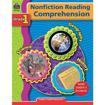 Nonfiction Reading Comprehen Gr 1 By Teacher Created Resources