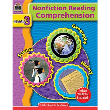 Nonfiction Reading Comprehen Gr 3 By Teacher Created Resources