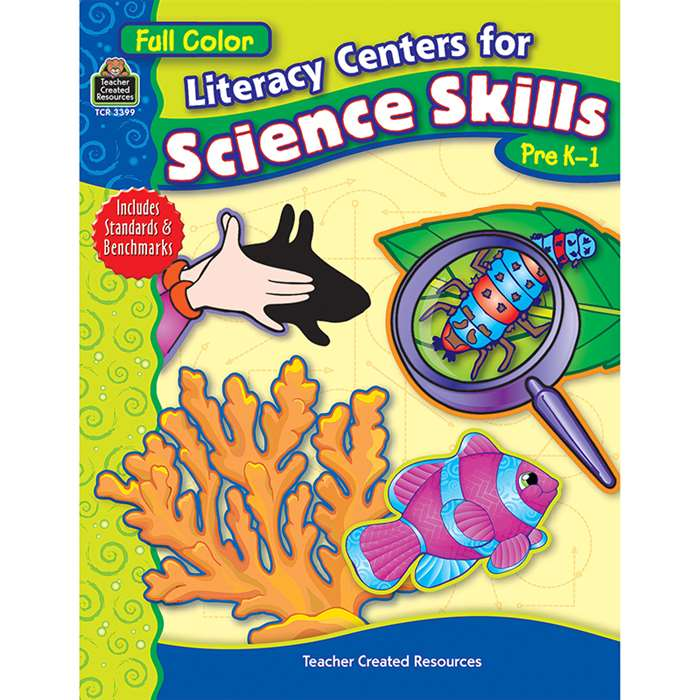 Literacy Centers For Science Skills By Teacher Created Resources