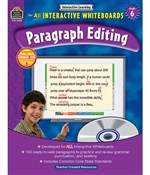 Shop Paragraph Editing Gr 6 Interactive Learning By Teacher Created Resources